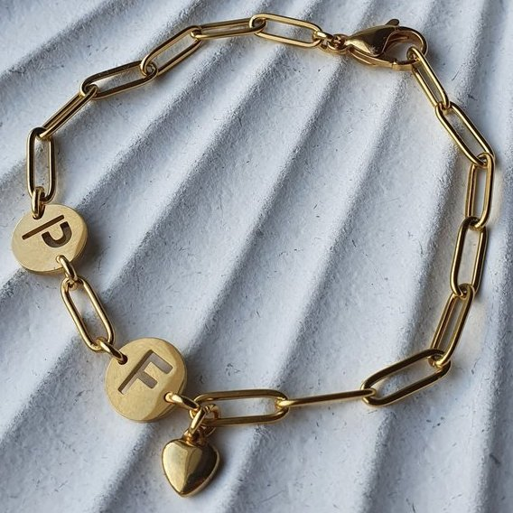 "Familienarmband ""Kate"" gold"